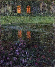 Evening - Henri Le Sidaner