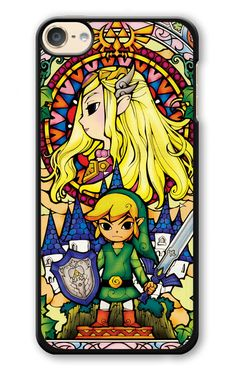 The Legend Of Zelda Stained Glass iPod 6 Case | Republicase