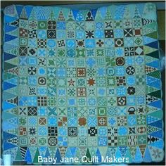 Dear Jane quilt by Chibi Chan (Japan) seen at Dear Jane Quiltmakers