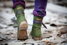 Diana Nagorna - Весенние ботинки, куртки и платье