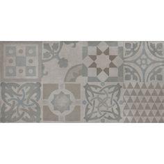 Fliesenwelt Bodenfliese Design Marmette grigio azurra 30.2x60.4cm jetzt günstig kaufen! #fliesenmax #fliesen #vintage