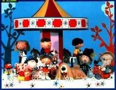 Magic roundabout - My dad used to love this at 5.55pm just before the news :)