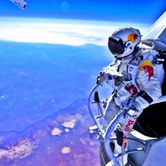 70,000 ft free-fall from the edge of space
