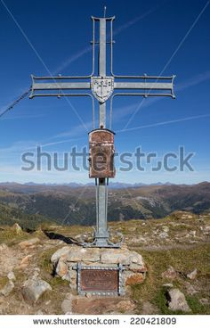 #Top Of #Mount #Pfannock #Summit #Cross @shutterstock #shutterstock #ktr14 @kleinkirchheim #landscape #nature #nockymountains #carinthia #austria #hiking #stock #photo #new #download #portfolio #hires