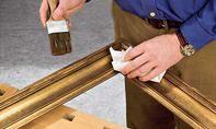 Öl-Gemälde restaurieren: Schritt 9 von 11 Canvas Frame, Picture Frame