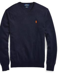 Polo Ralph Lauren - Pull col rond en coton