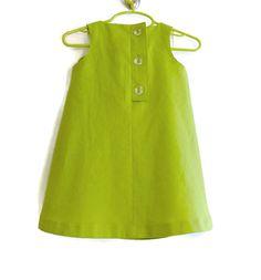 Girls Dress Sleeveless Swing Bow Dress Spring Summer by SwingCoat