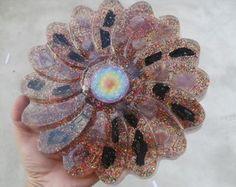 Orgonite mandala flor transmutação poder