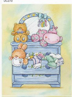love the dresser Tatty Teddy, Nici Teddy, Baby Shower Clipart, Image 3d, Baby Journal, Baby Album, Baby Christening, Baby Art, Baby Scrapbook
