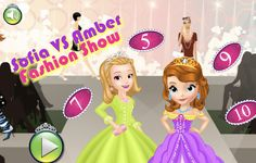 Sofia Vs Amber Fashion Show Fun Games, Games For Kids, Games To Play, Online Fun, Online Games, Fashion Show Games, Disney Games, Sofia The First, Disney Junior
