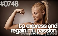 #0748 | to express and regain my passion