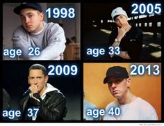 Eminem Doesn't Age!