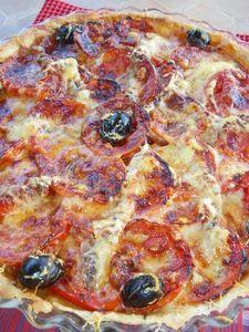 IMGP9621 Specialite Nicoise, Pepperoni, Brunch, Pizza, Food, Tomato Pie, Fish, Eten, Meals