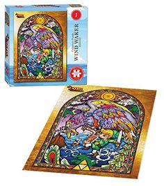 2 X The Legend of Zelda Wind Waker Collectors Puzzle Series #1 @ niftywarehouse.com #NiftyWarehouse #Geek #Zelda #Products #LegendOfZelda #Nintendo