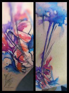 #wildlinestattoo #arttattoo #abstract #abstracttattoo #dododeer #dodac #dodactattoo #colortattoo #color #blacktattoo #tattoo #originaltattoos #original #art #tattrx #equilattera #cheyennetattooequipment #inked #ink #tattooboy#czechtattoo #pilsen #divadlopodlampou#freehand #freehandtattoo #folowtattoo Boy Tattoos, Line Tattoos, S Tattoo, Black Tattoos, D Line, Free Hand Tattoo, Tattoo Equipment, Original Tattoos, Watercolor Tattoo