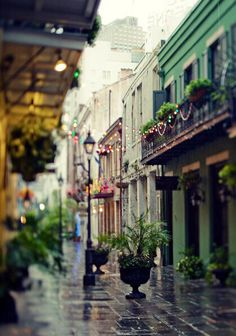 Exchange Alley - New Orleans. So, maybe I have a thing for Alleys or maybe I should just go to New Orleans. Oh The Places You'll Go, Places To Travel, Places To Visit, Dream Vacations, Vacation Spots, Voyage Usa, Sidewalk Cafe, New Orleans Travel, To Infinity And Beyond