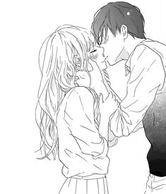 Marvelous Learn To Draw Manga Ideas. Exquisite Learn To Draw Manga Ideas. Anime Couple Kiss, Couple Manga, Cute Anime Couples, Photo Manga, Anime Amor, Fanarts Anime, Girls Anime, Couple Drawings, Drawings Of Couples Kissing