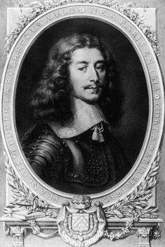 French writer Francois VI, duc de La Rochefoucauld, Prince de Marcillac (1613 ? 1680), circa 1650. (Photo by Hulton Archive/Getty Images)