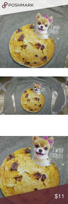 The children's place long sleeve cookie shirt girl Girls long sleeve shirt new the childrens place Shirts & Tops Tees - Long Sleeve