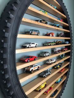 Hot Wheels Storage, Toy Car Storage, Hot Wheels Display, Playroom Storage, Kids Room Organization, Garage Workshop Organization, Crate Storage, Hidden Storage, Tool Storage
