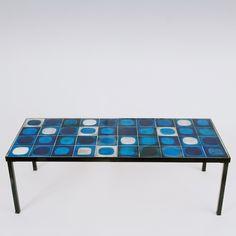 "Roger Capron - ""Planètes"" Coffee Table  www.galerieriviera.com"