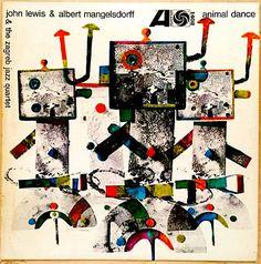 John Lewis & The Zagreb Jazz Quartet - Animal Dance - Atlantic 1402
