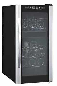 Avanti 18 Bottle Dual Zone Thermoelectric Wine Cooler W/Glass Door / Stainless Steel Handle by Avanti, http://www.amazon.com/dp/B006OBA1OE/ref=cm_sw_r_pi_dp_CwaSrb0QH69WY