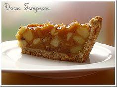 Doces Temperos: Tarte de Maçã – Appeltaart (receita holandesa)