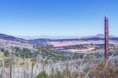 View From Azalea Loop Trail, Cuyamaca Forest, Greater San Diego Region, CA