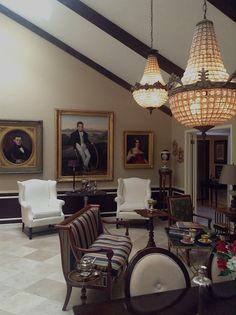 Neoclassical interior, design/Richard Gallaway