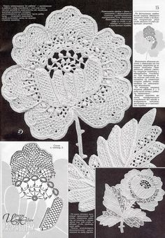 Crochet patterns magazine DUPLET 179 Irish by DupletCrochetSchool