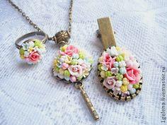 комплект Приятный сюрприз - комплект аксессуаров,красивое украшение,украшение на шею