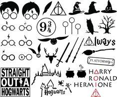 Harry Potter Clip Art, Harry Potter Words, Harry Potter Decal, Harry Potter Castle, Harry Potter Free, Harry Potter Glasses, Harry Potter Shirts, Harry Potter Images, Harry Potter Universal