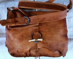 Antelope Hide Moutain Man Possibles Bag with by misstudy on Etsy, $165.00