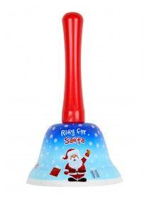 Novelty Christmas Ring For Santa Bell