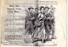 Why We Oppose Votes for Men by Alice Duer Miller, 1915