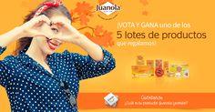 ¡Vota tu producto #JuanolaDesde1906 favorito y GANA un fantástico LOTE regalo! ¿A qué esperas?