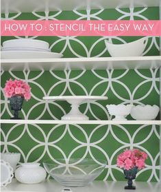 How to stencil -- the easy way!