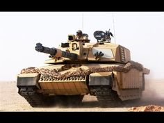Challenger 2 Tank - UK - YouTube