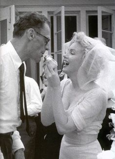 Boda Marilyn Monroe y Arthur Miller (1956)
