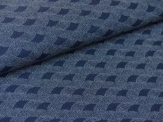 Stoff japanische Motive - Japanstoffe :: Bogen-Ornamente - ein Designerstück von stoffbuero bei DaWanda