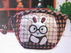 Rabbit Wallet Purse Craft Kit, Sewing Kit, Sewing projects for Kids with free Sewing Pattern, ShineKidsCrafts on Etsy, $9.99