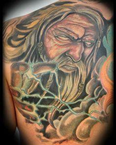 Graphic design logos on pinterest zeus tattoo for Zeus tattoo designs