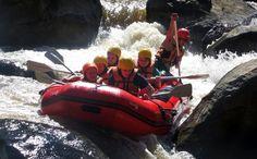 Whitewater rafting at Mae Taeng River Chiang Mai, Thailand