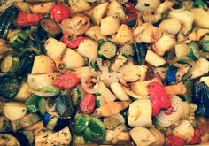 Vasso's briam recipe is similar to ratatouille, but the parsley, garlic, and lashings of olive oil give these oven-baked vegetables a flavoursome Greek twist.