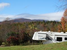 Awesome views from one of our campsites.....360 degree view of the surrounding mountains