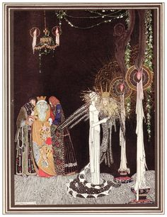 Kay Nielsen, 1914, He came in and stood by her side