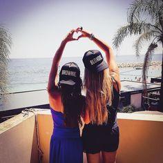 Great stay in Monaco with my brownie  #love #girls #work #project #meeting #formulawoman #team #race #brownie #blondie #heart #caps #instatravel #monaco #france #igers