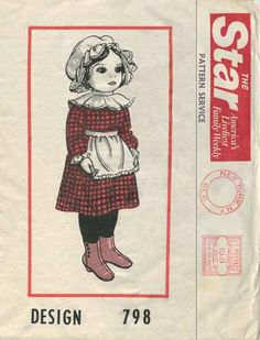 1000 Images About My Vintage Doll Amp Toy Sewing Patterns