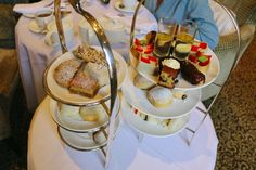 What's more English than afternoon tea? Oxford's Macdonald Randolph Hotel puts on a lovely spread in their well-appointed drawing room, including a variety of looseleaf teas and a mouth-watering selection of cucumber and cress sandwiches, scones and pastries arranged beautifully on tiered trays. For a few extra pounds, upgrade to the Celebration package, which includes a glass of champagne for each guest.
